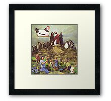 M Blackwell - The Eggs of Good and Evil... Framed Print