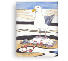 Gull Canvas Print