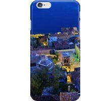 Medieval nights in Monemvasia iPhone Case/Skin