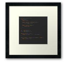 A Developer's view on love Framed Print