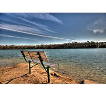 Sit and Relax Photographic Print