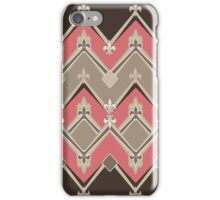 Seamless pattern geometric stylish retro texture iPhone Case/Skin