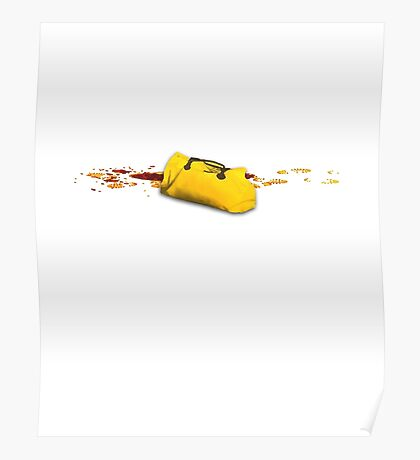 A yellow utopic bag Poster