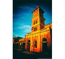 The Last Rays - Albury Train Station (2015) Photographic Print
