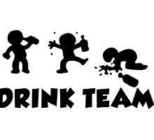 alcool funny cartoon bachelor party drink team  Photographic Print
