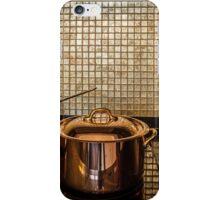 golden luxury kitchen cookware iPhone Case/Skin