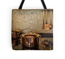 golden luxury kitchen cookware Tote Bag