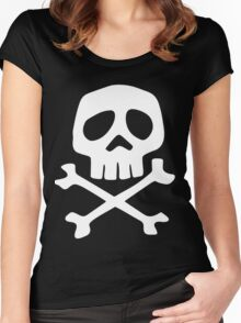 Space Pirate Captain Harlock Women's Fitted Scoop T-Shirt