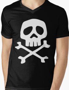 Space Pirate Captain Harlock Mens V-Neck T-Shirt