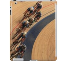 pursuit Cycling top view  iPad Case/Skin
