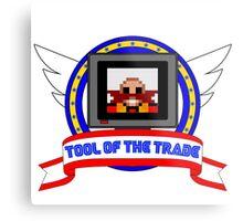 Tool of the Trade - Dr. Robotnik's Trap! Metal Print