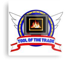 Tool of the Trade - Fire Shield Metal Print