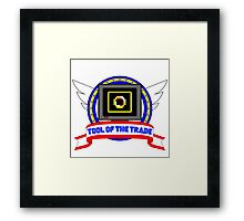 Tool of the Trade - Power Rings Framed Print