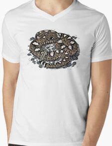 Rattlesnake! T-shirt Mens V-Neck T-Shirt