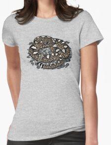 Rattlesnake! T-shirt Womens Fitted T-Shirt