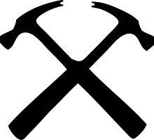 hammer handyman carpenter bricoleur menuisier by huggymauve
