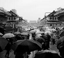 Nakamise Dori, Tokyo by Matt Emrich