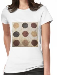 Dots ... Womens Fitted T-Shirt