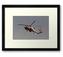 Rescue Chopper Framed Print