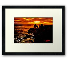 """Wye River Gold"" Framed Print"
