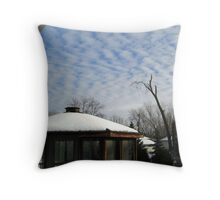 Pretty Cloud Formation Throw Pillow