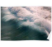 Atlantic Ocean Coming In Poster