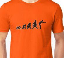 pétanque jeu de boules darwin evolution Unisex T-Shirt