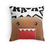 The Treachery of Biblical Profanity Throw Pillow