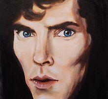 Benedict Cumberbatch by madam spooky by Katarzyna Glinkowska