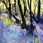 Bluebell Wood by Val Spayne