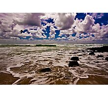 High Tide at Burleigh Photographic Print