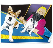 Bob & Alf & Tim Poster