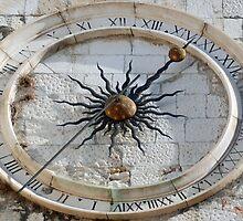 Old clock in Split - Croatia by Arie Koene