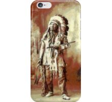 Chief American Horse, Sioux indian 1899 iPhone Case/Skin