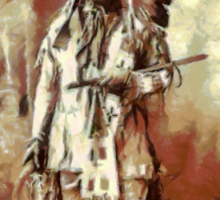 Chief American Horse, Sioux indian 1899 Sticker