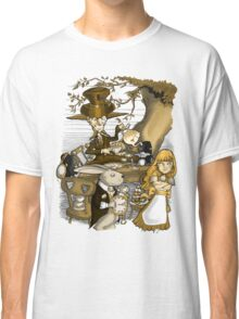 Mad Hatter's Tea Party - Gold Classic T-Shirt