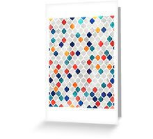 Sea & Spice Moroccan Pattern Greeting Card