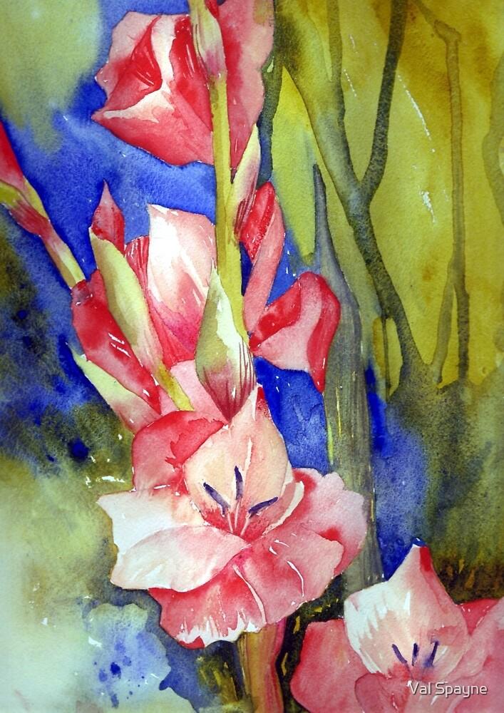 Anniversary Flowers by Val Spayne
