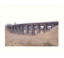 This Old Bridge - Yarra Glen Art Print