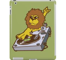 lion dj dub style cartoon iPad Case/Skin