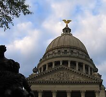 Mississippi State Capital Building by SmilinGrnEyes