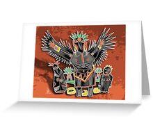 ravens spread Greeting Card