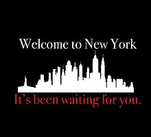 Welcome To New York  by brooklynights