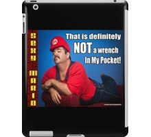 SexyMario MEME - That Is Definitely Not A Wrench In My Pocket 2 iPad Case/Skin