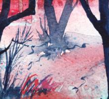 Inktense Trees Sticker