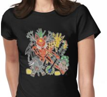 fox trot  Womens Fitted T-Shirt
