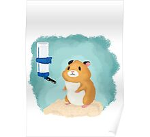 Hamster life Poster