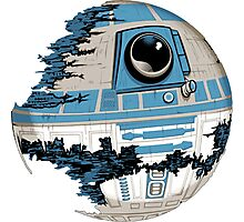 R2-D2 Death Star Photographic Print