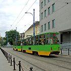 Trams in Poznan - Poland by Arie Koene