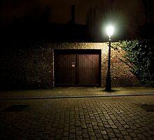 Eerie Bruges by jonopeek